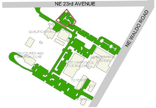 East Campus Map