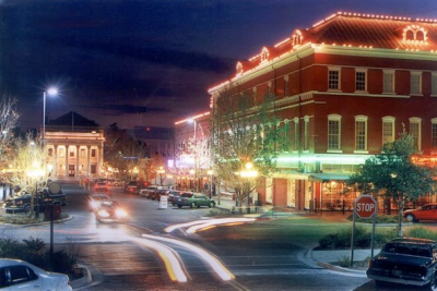 Photo of downtown gainesville