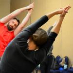kim leading stretches